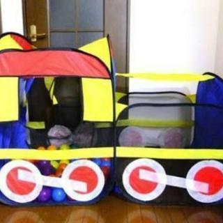 汽車の形のボールプール