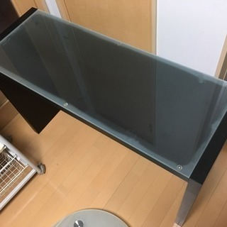 カウンターテーブル(ガラス天板)