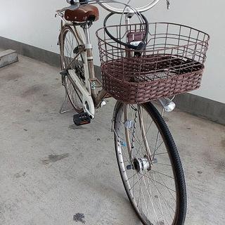 自転車 27インチ 通学・女子向け