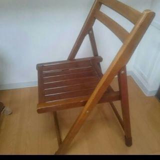 【0円】折り畳みテーブル&椅子(2脚)