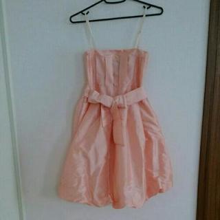 ピンク♡ミニスカートドレス