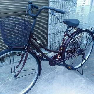【美品】自転車アサヒ26インチ カゴ付き