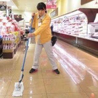 【急募】大手スーパー各店の営業中清掃