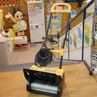 札幌市 アルファ工業 家庭用電動除雪機 スノーパワー E-5350