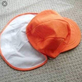オレンジ色のカラー帽子を探しています!