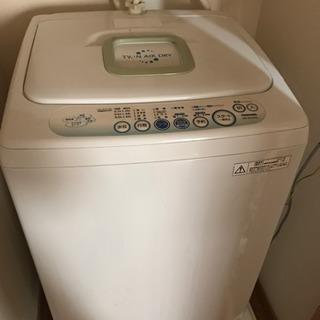 洗濯機譲ります。