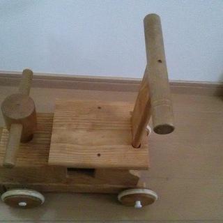 木製 汽車 乗り物 おもちゃ