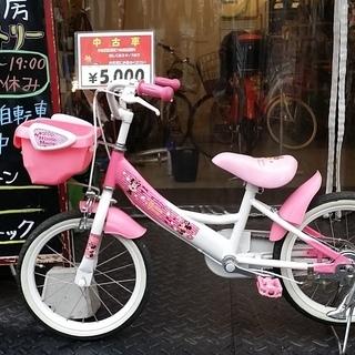 整備済リサイクル子供用自転車 16インチ ミニーマウス♪