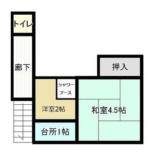 大阪市 地下鉄駅6分 激安 家賃3.5万(込) 敷礼ゼロ、シャワー...