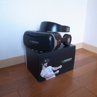 JingXiGuoJi VR ゴーグル ヘッドフォン一体型