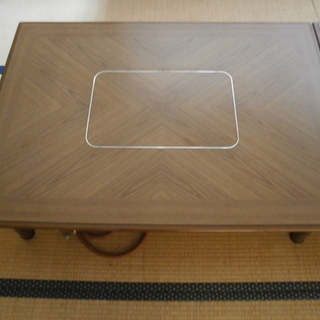 サンヨー☆鍋テーブル、クッキングテーブル(LPガス用)中古品