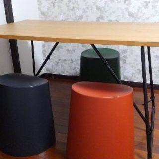 無印良品折りたたみテーブル&スツール