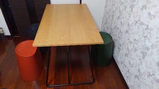 無印良品折りたたみテーブル&スツール - 中頭郡