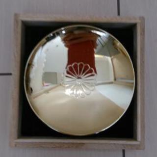 菊の御紋の金杯