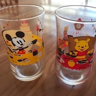 未使用❤️ ディズニー グラス 2個セット