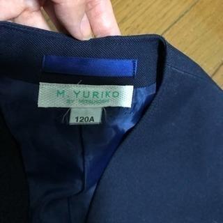 ジャケット  ブレザー   120 ②紺色  ネイビー