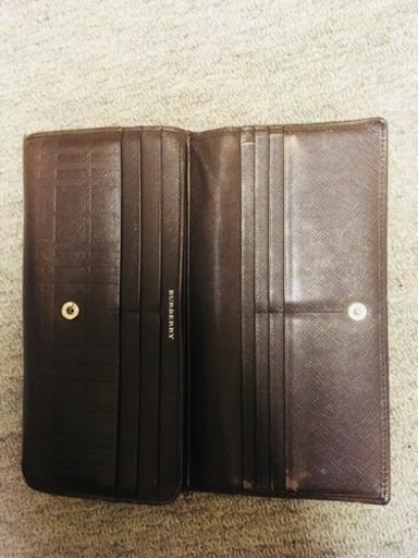 new products d0d6f f8351 バーバリー 財布 (獅子まいまい) 新浦安の小物《財布》の中古・古着あげます・譲ります|ジモティーで不用品の処分
