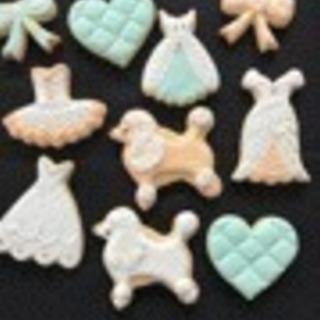 ガーリーアイシングクッキーレッスン/お土産クッキー付きです!