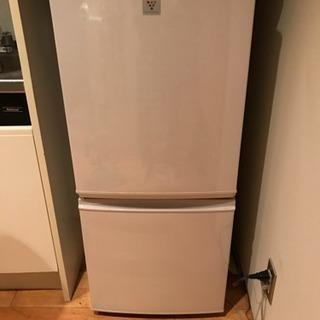 冷蔵庫 シャープ 2015年製 137L 2ドア