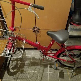 折りたたみ自転車。新品☺