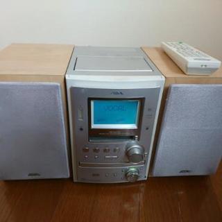 詳しい方のみ。CD MDコンポ カセットテープ付