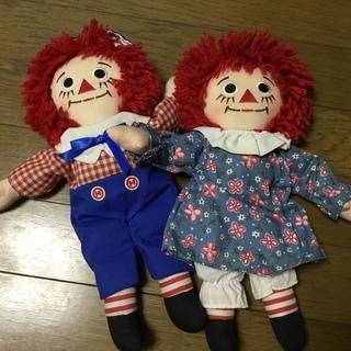 即決 ラガディアン&アンディ カントリードール 人形 カントリー雑貨