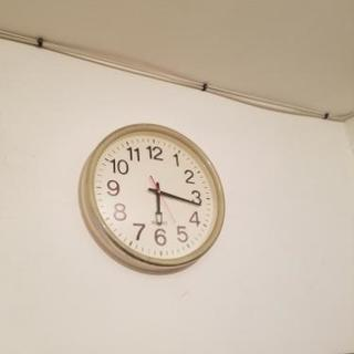 学校風 壁掛け時計