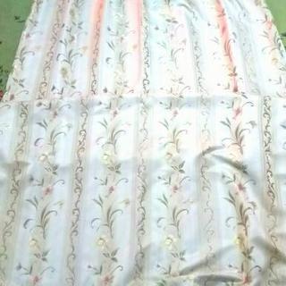 花柄遮光カーテン  100cm ✖ 220cm