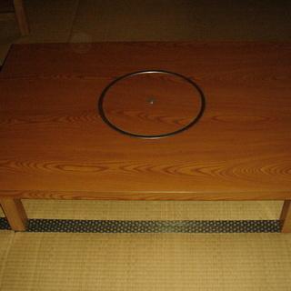 国際什器KKの鍋テーブル(LPガス用)