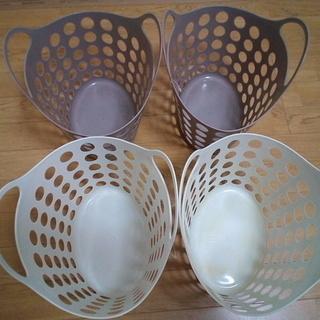 プラスチック PIONEER バスケット かご 小 4個セ…