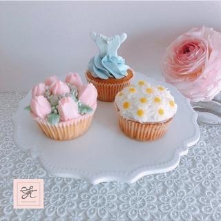 【募集】3月 カップケーキ1dayレッスン♡