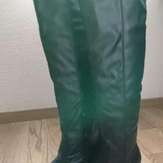 ★ニーハイブーツ 黒 Mサイズ★