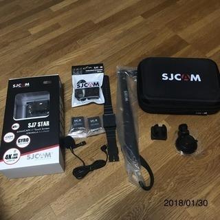 GoPro の様な 4k アクションカメラ sjcam si7 ...