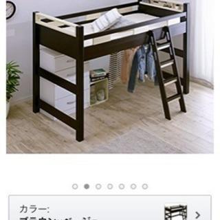 木製ロフトベッド(^^)