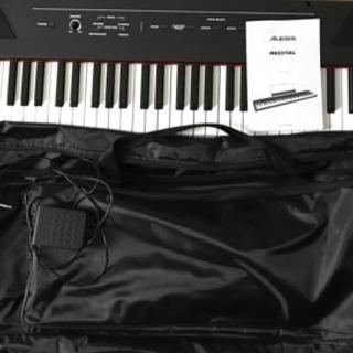 Alesis 88鍵盤 初心者向け電子ピアノ フルサイズ・セミウ...