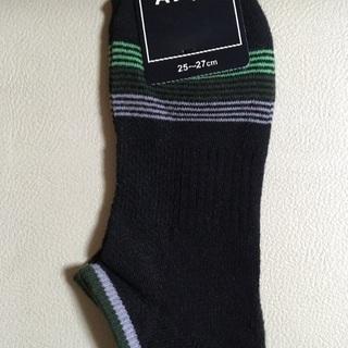 新品未使用! 洋服の青山 靴下 25-27センチ