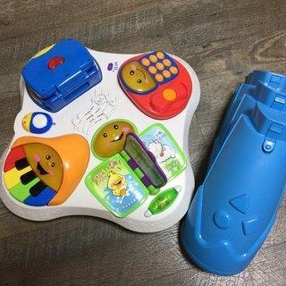 知育玩具 3点セット フィッシャープライス等 - おもちゃ