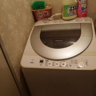 ナショナル 洗濯機 本日引き取り限...