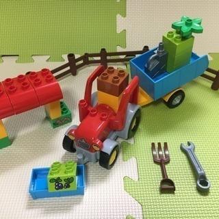 LEGO duplo レゴデュプロ☆ぼくじょうのトラクター ☆ 1...