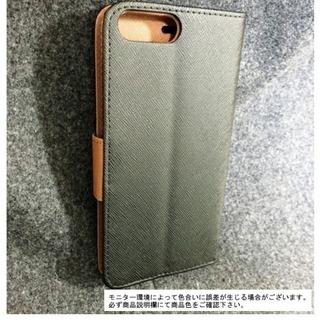 iPhone 7 Plus 豪華3点セッ♪ 革調ケース・保護フィ...