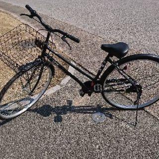 自転車 サイズ:27 黒色