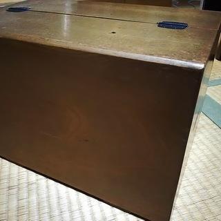 昭和の裁縫箱 - 家具
