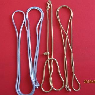 再再再値下げ品 ネックレス用スネークチエーン三本