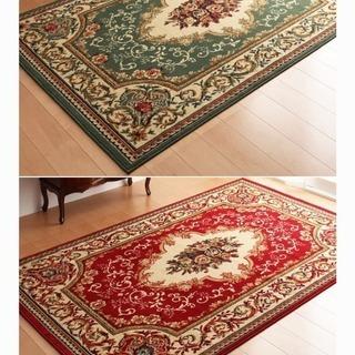 新品 #15583-15584 2COLORウィルトン織りラグカ...