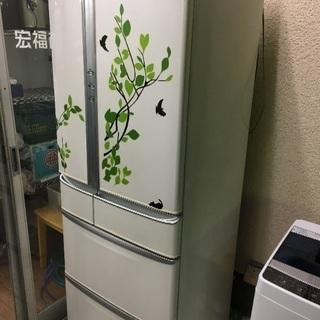 2007年製  ナショナル  470L 冷凍冷蔵庫