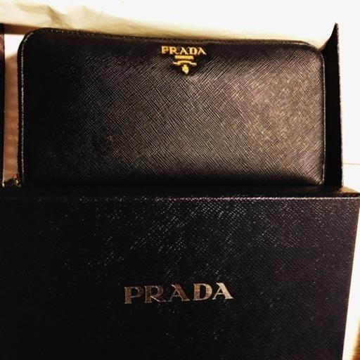 b03ae8f6c77c プラダ 長財布 正規品 (ちいちゃん) 甲府の靴/バッグの中古あげます ...