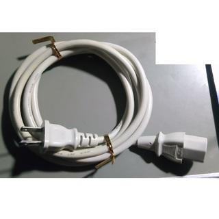 中古 パソコン用電源ケーブル