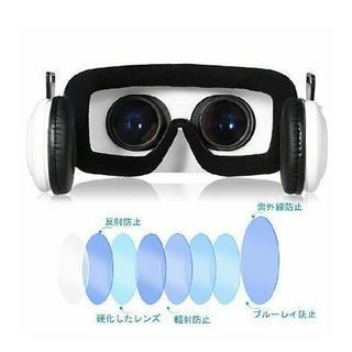 3D VRゴーグル FOXNOVO vr ゴーグル レンズ調整可能ヘッドバンド付 【新品未使用】 - おもちゃ