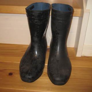 未使用◆長靴 24.5㎝