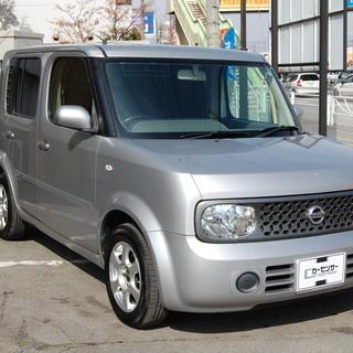 ☆自社分割でも車が買えます☆日産 キューブ 4WD!後期型!イン...